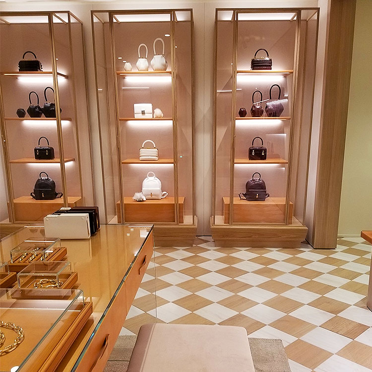 Bags in the Gabriela Hearst boutique