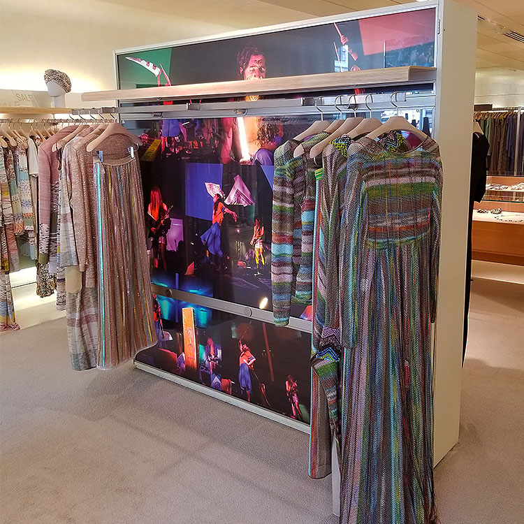 Art in the Missoni New York boutique