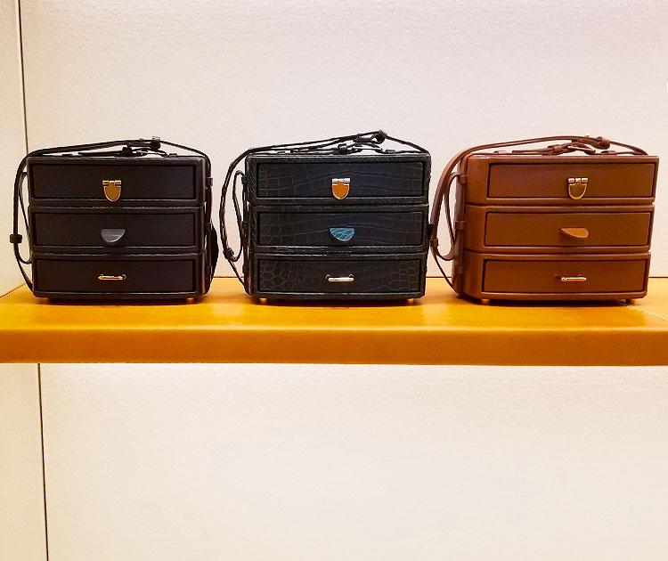 Handbags in the Gabriela Hearst store