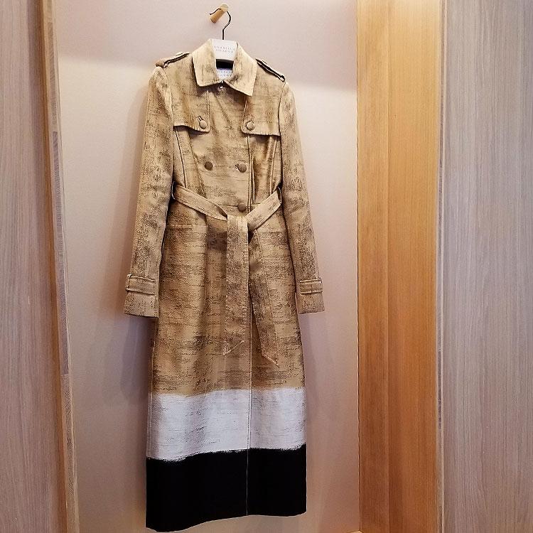 A Gabriela Hearst raincoat