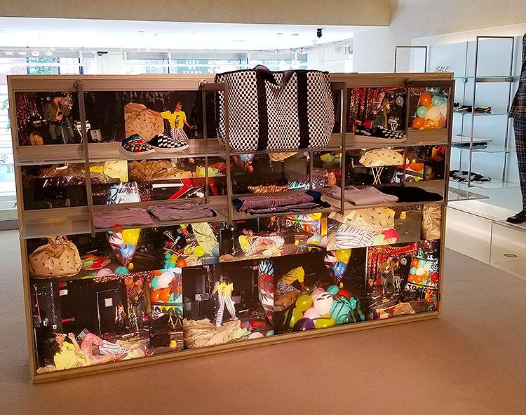 Men's accessories in the Missoni NY store