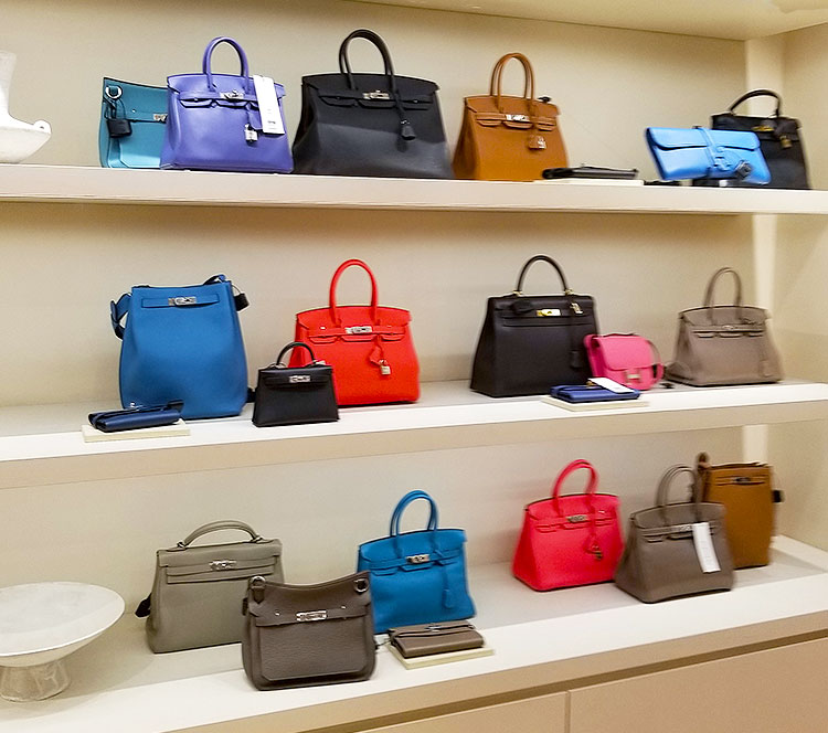 Hermes bags for sale at The RealReal