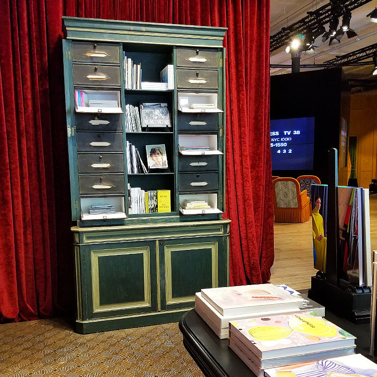 Books for sale at Gucci Soho