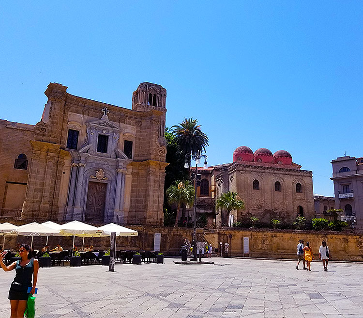 Piazza Bellini Palermo