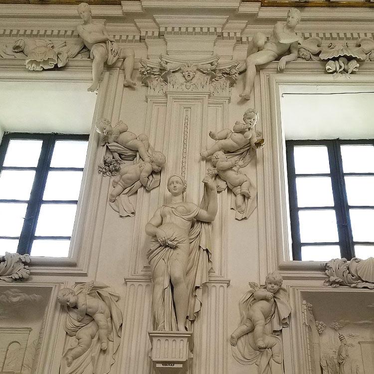 A Baroque chapel in Palermo
