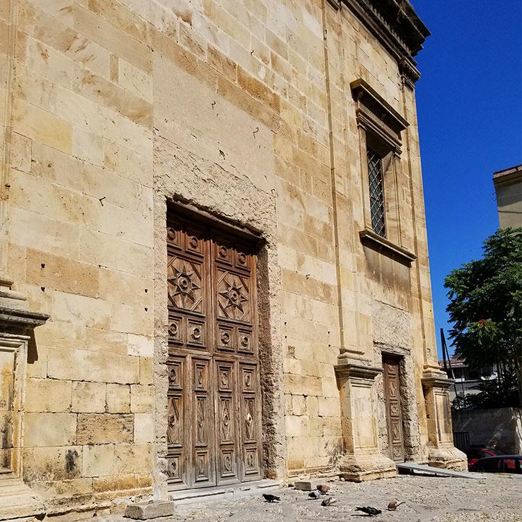 Chuch of S Giorgio di Genovese Palermo