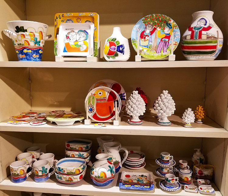 Sicilian ceramics for sale
