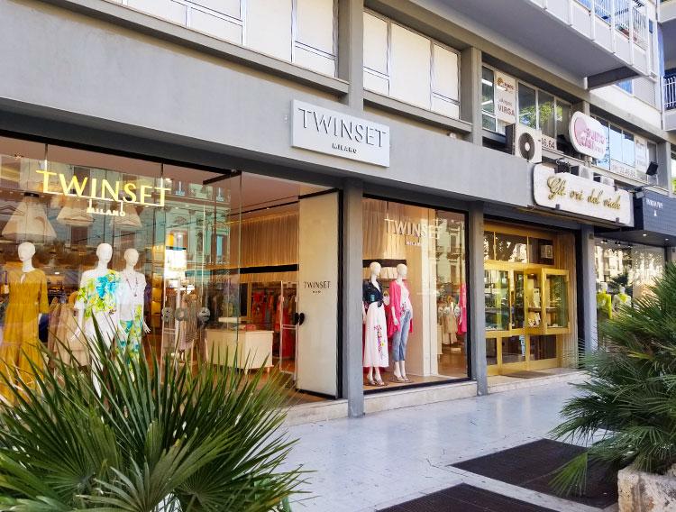 Stores on the Vilae Dea Liberta Palermo