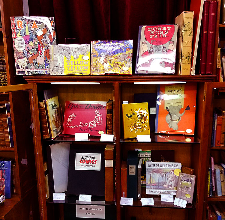 Rare children's books at the Strand
