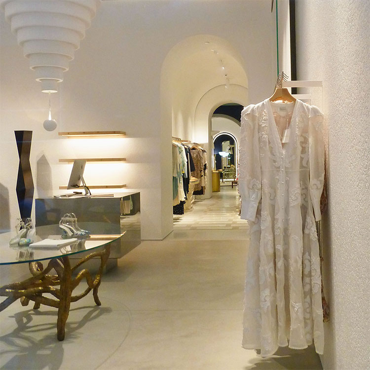 Insie the Zimmerman Soho boutique