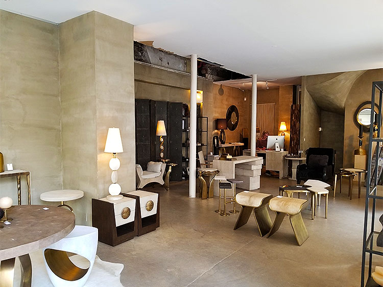 Modern pieces of furniture from R&Y Augousti in Paris
