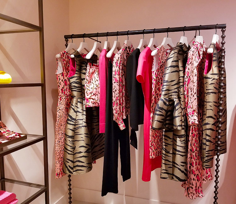 Carolina Herrera Pink Prints at Bergorf Goodman
