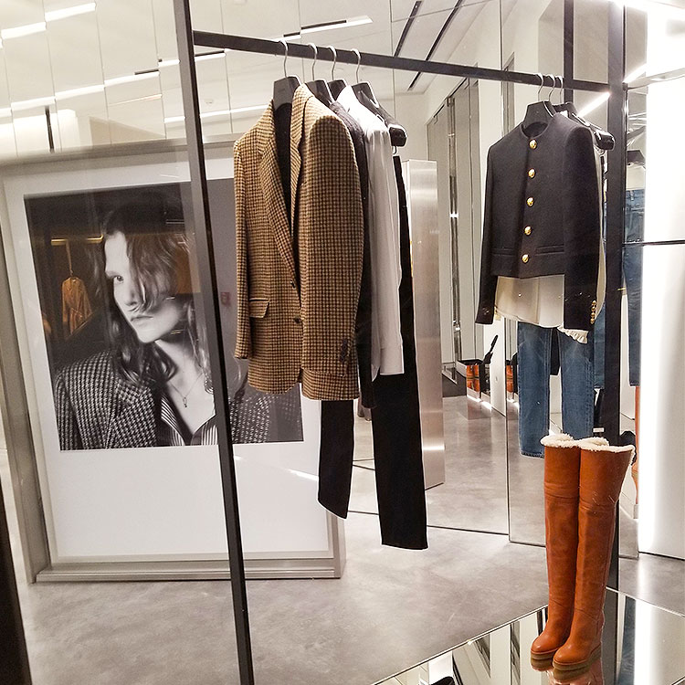Fall clothing from Celine