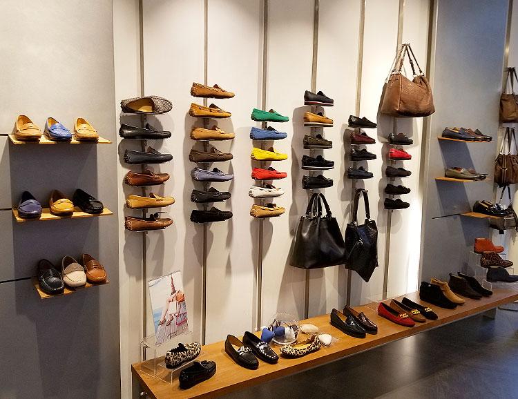 Fairmont loafers in the Fairmont store in Paris