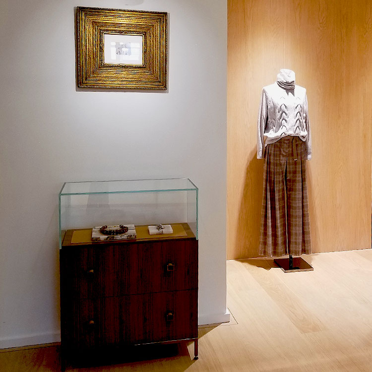 Inside the Lafayette 148 Store on Madison Avenue