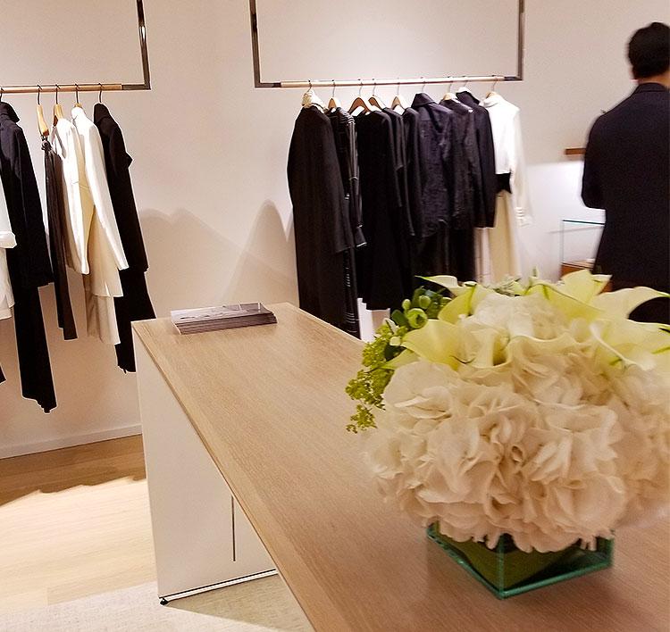 Clothing Inside the Lafayette 148 store on Madison Avenue