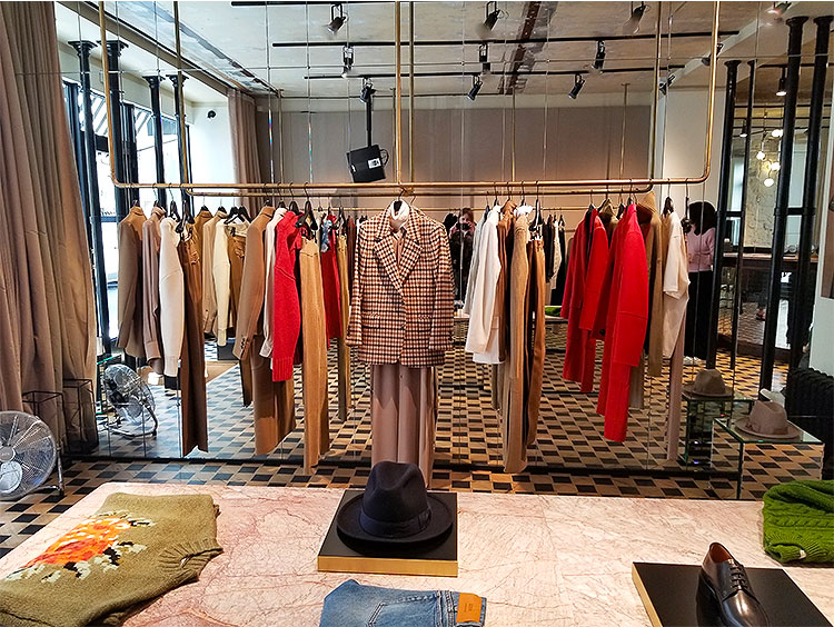 The Ami clothing boutique on the rue de Grenelle