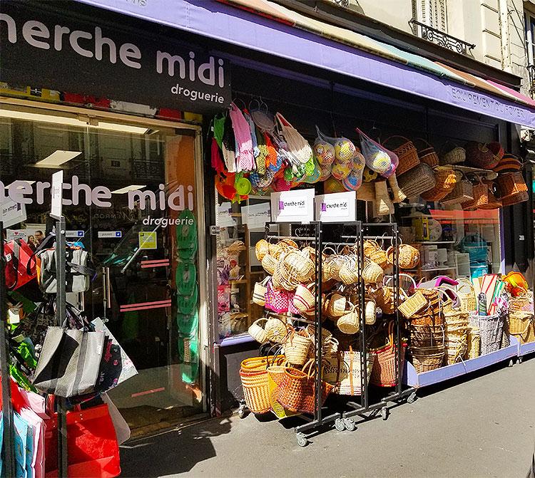 The Cherche Midi Droguerie on the rue du Cherche Midi Paris