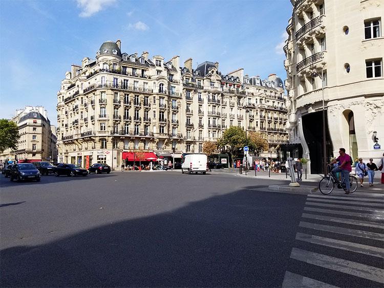 The Hotel Hotel Lutetia in Paris