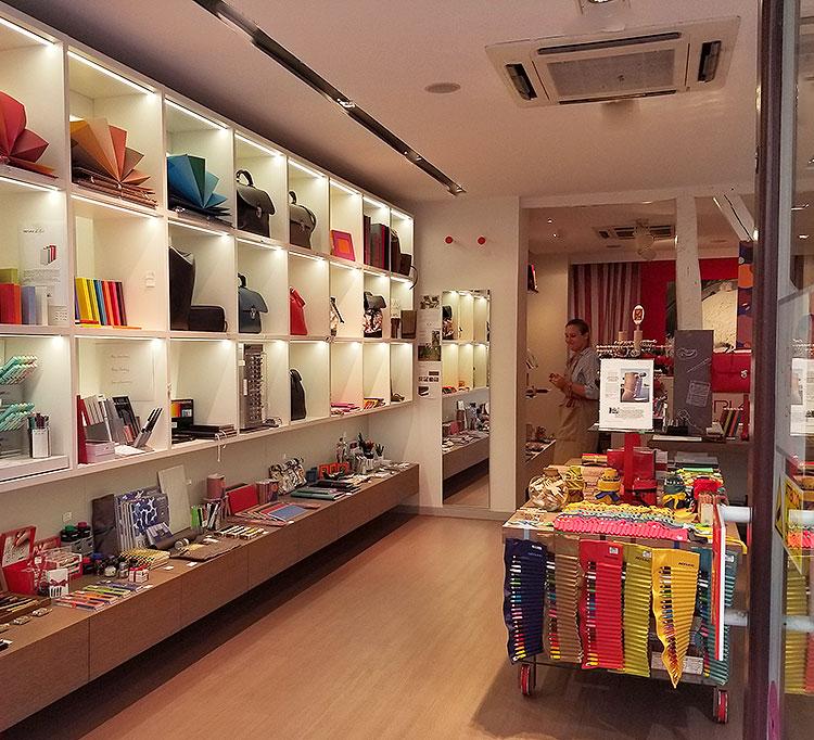 The Fabriano Boutique in Paris