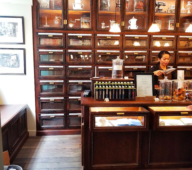 Inside the Verlet coffee store in Paris