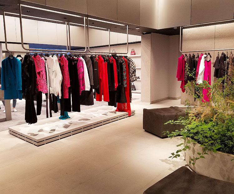 Balenciaga women's clothing on Madison Avenue