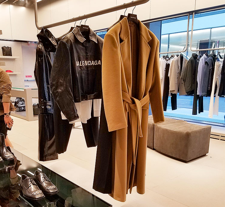 Balenciaga's relaxed menswear