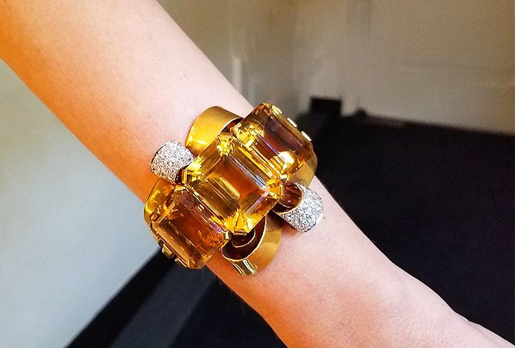 Vintage bracelet for sale on Madison Avenue