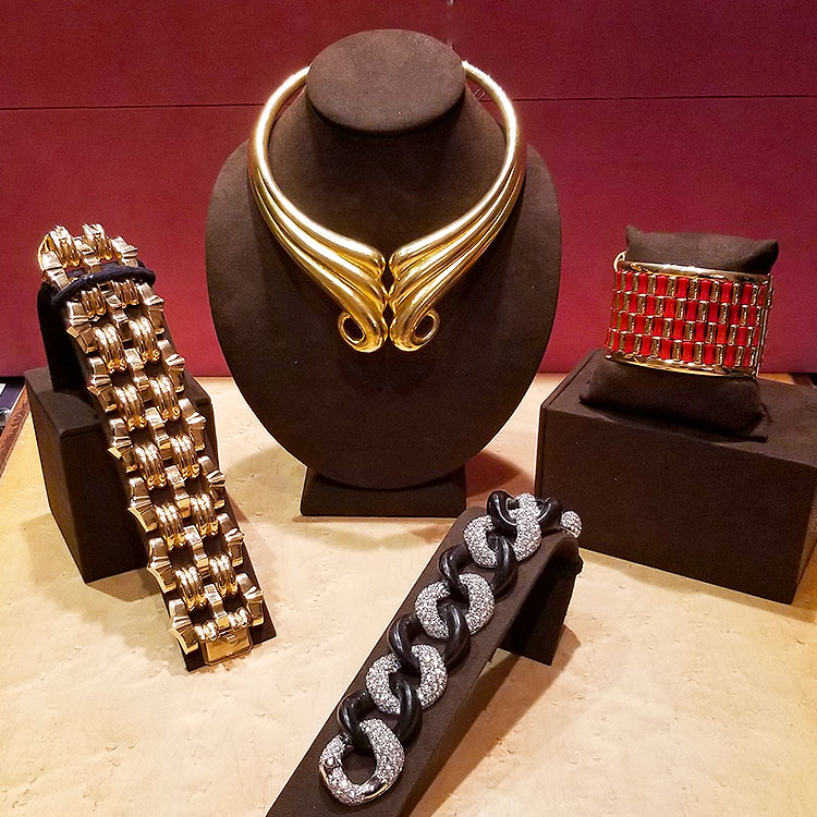 Vintage jewelry for sale on Upper East Side