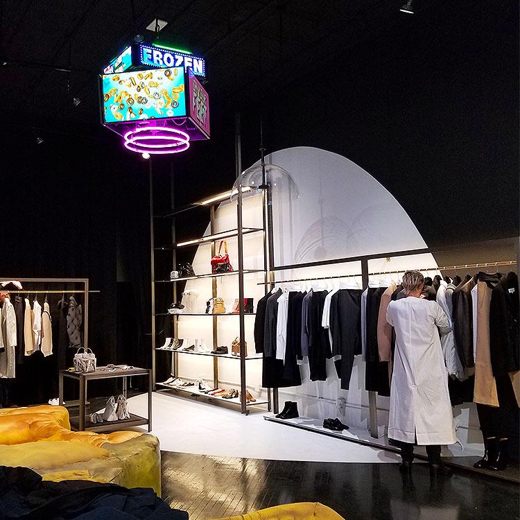 Inside the new Margiela store in soho
