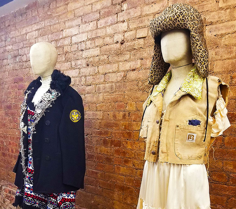 Clothing in the R13 store in Soho.