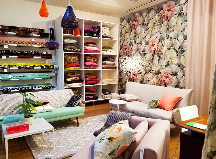 Inside The Designers Guild in London