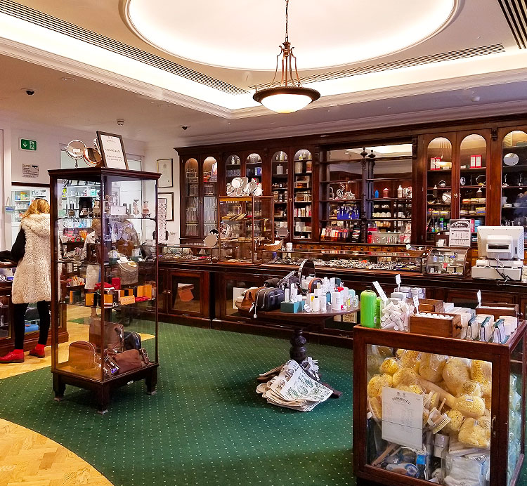 Inside the Expanded Dr. Harris Shop in London