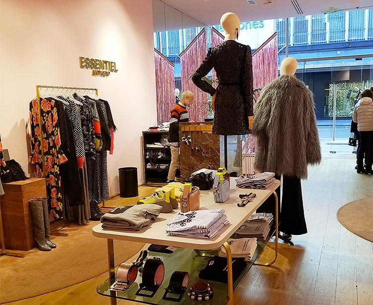 Essential, Antwerp shop in London