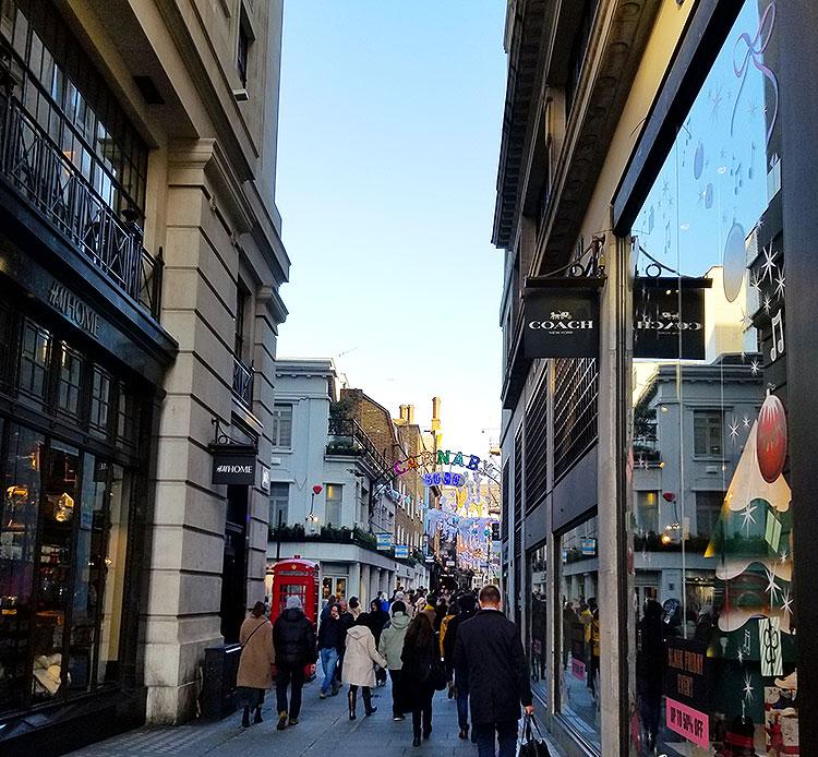 Foubert Place, Soho London