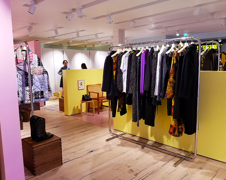 The Ganni Soho Boutique in London