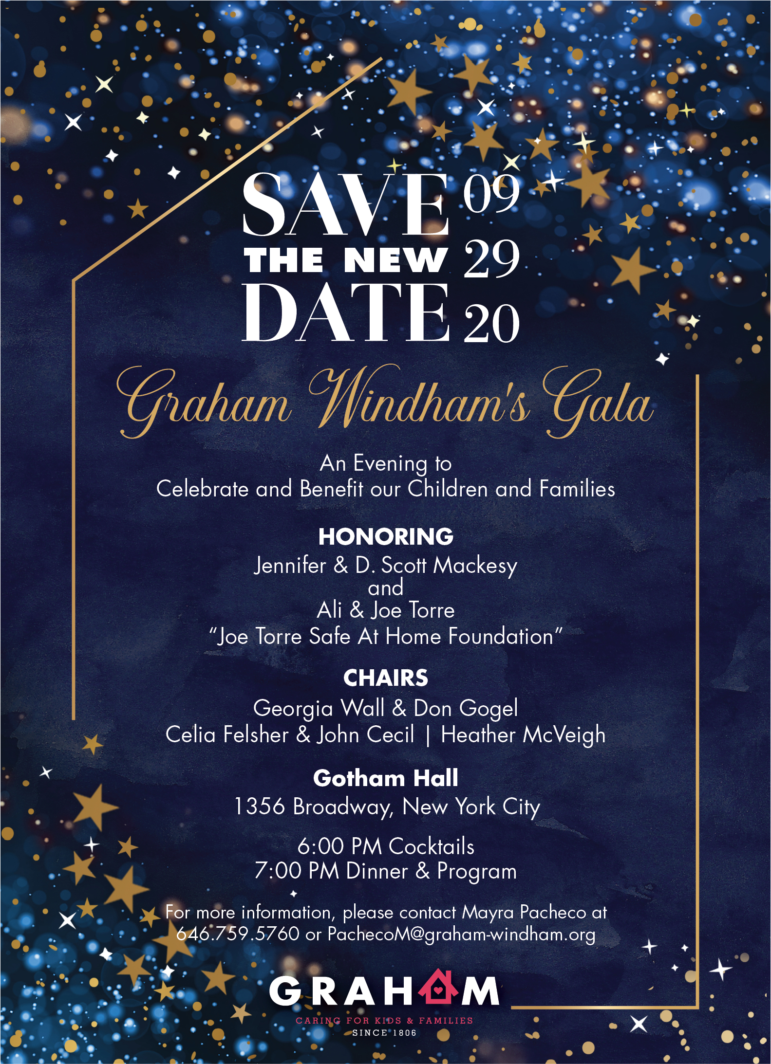 Christmas Dinner In New York City 2020 NEW DATE: 2020 Graham Windham Gala Celebration Dinner | New York