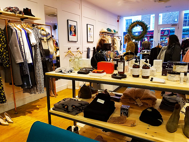 The Iris boutique on Kings Road
