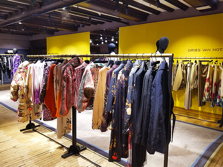 Eclectic Clothing From Dries Von Noten in Liberty