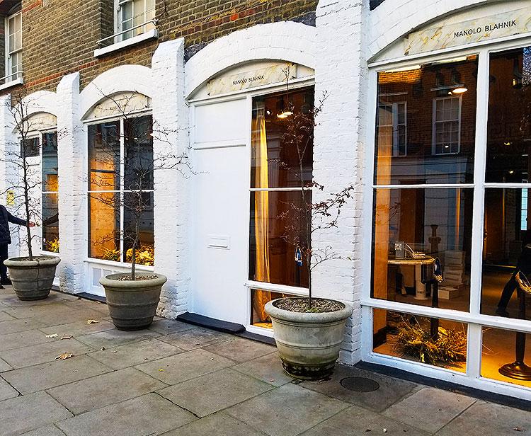 The Iconic Manolo Blahnik Shop in London