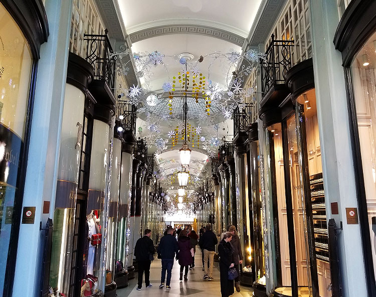 The Fanciful Piccadilly Arcade in London