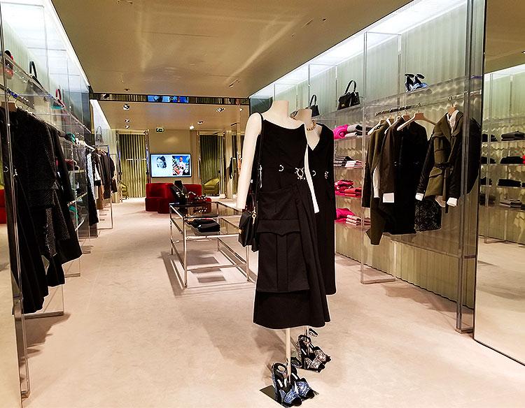Inside The Bond Street Prada
