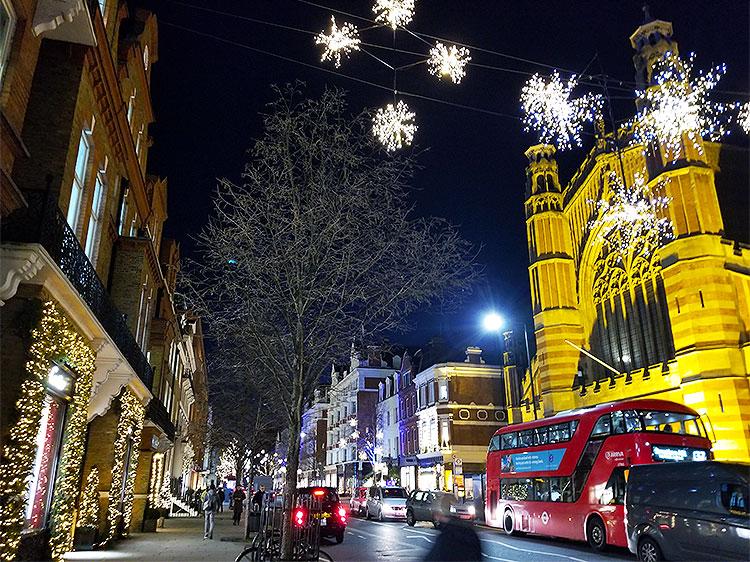 Sloane Street at Night
