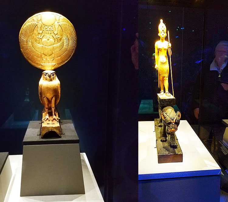 The King Tut Exhibit show in London