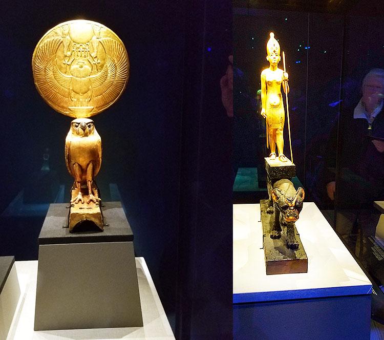 The King Tut Exhibit show in London