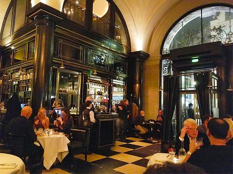 Inside The Wolseley in London