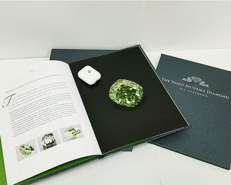 Green Diamond Has It's Own GIA Book
