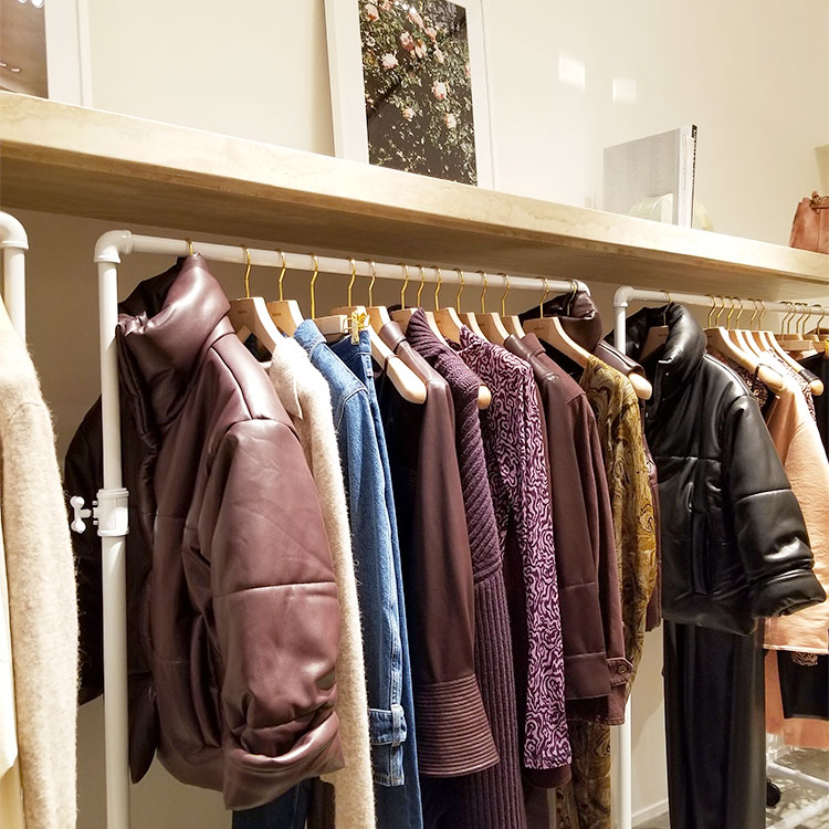 Signature Vegan Leather Jackets and Other Clothing in Soho
