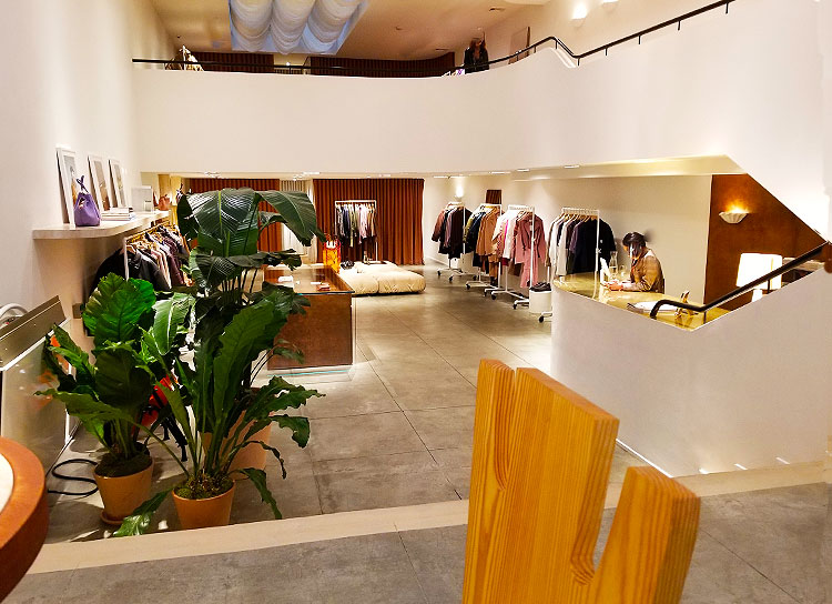 Inside the Nanushka Soho Boutique