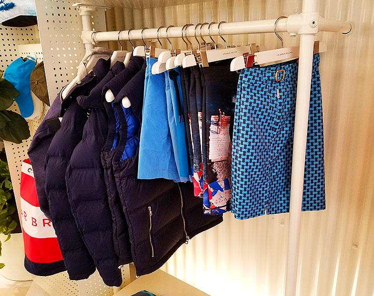 Jackets and Swimwear for sale